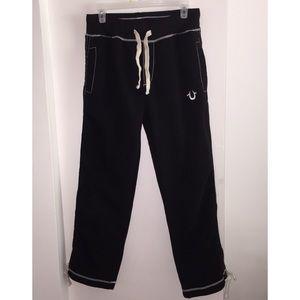 True Religion Sweatpants, Black, Medium